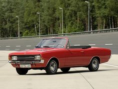 Opel Rekord Cabriolet By Karl Deutsch (1965 – 1971).