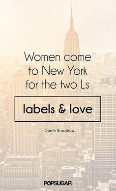 L&L. XOXO Carrie Bradshaw