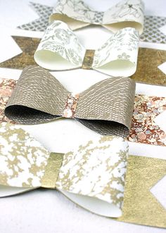Paper Mojo the Blog » Blog Archive » Easy DIY Paper Bow