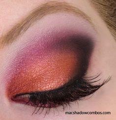 Stunning!!!  Wearing this eyeshadow combo tonight!
