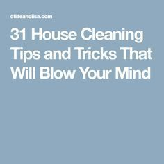 31 House Cleaning Tips and Tricks That Will Blow Your Mind Cleaning Day, House Cleaning Tips, Cleaning Hacks, Cat Toilet Training, Blow Your Mind, Clean House, Household, Good Things, How To Plan