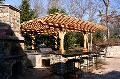 Trellis Structures - High Quality Landscape Pergolas Arbors and Tellises Templeton MA | Boston Design Guide