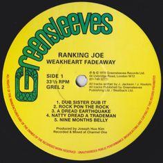 Ranking Joe - Weakheart Fadeaway (Label)