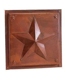 You can buy this ceiling tile here, its a 12x12 rusty metal, can be used as a primitive back splash as well.