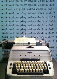 All work and no play makes Jack a dull boy, #Shining - Lande Incantate #libri #novel #books #horror #thriller