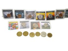 Coin Collection with Collectible Commemorative Jackets & Old Casino Tokens Lot http://www.listia.com/auction/20592465-coin-collection-with-collectible-jackets