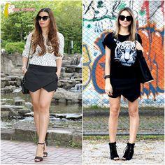 Short/saia assimétrico - primavera/verão 2014 #short #saia #assimétrico #primavera #verão #2014