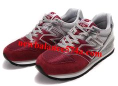 New Balance NB CM996MPS wine Red Silver Shoes Grey