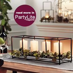 #PartyLite #candles : Shop online at www.PartyLite.biz/NikkiHendrix