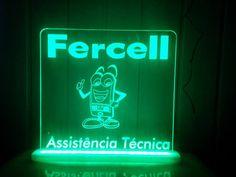 Luminoso para Vitrine Fercell Assistência Técnica