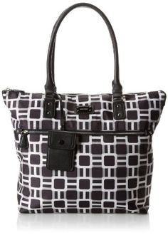 Nine West 9 On The Go LG-Black MU SY Shoulder Bag,Black Multi,One Size