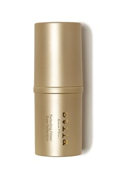 Check out Aqua Glow Perfecting Primer from Stila Ready, Set, Glow! This water-based primer stick offers immediate pore-reduction, skin-smoothing, redness-reduction and hydrating benefits. The innovative formula delivers a burst of refreshing hydration while simultaneously delivering a distinctive cooling sensation. Skin is left silky, poreless and even-toned, creating the perfect canvas for your makeup application.