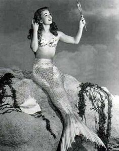 "Ann Blyth in ""Mr. Peabody and the Mermaid"" (1948)"