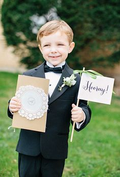 The truth about boutonnieres for your ring bearer | Brides.com