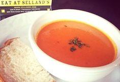 Seasonal Soups - including Tomato Bisque