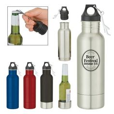 Conceal And Keep Your Favorite Beer Cold While Promoting Your Brand With This Bottle Armour™ #promoproducts #coldbeer