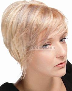 R sultats de recherche d 39 images pour coupe mi courte for Coupe de cheveux pour blonde et ronde