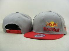 595a0e2ba5dd7 Red Bull Snapback Hats 9Fifty Snapbacks Caps Gray Red 026 Red Bull Hats