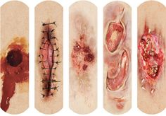 These Gory Bandages Make Your Cuts Look Far Worse