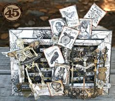 Hey everyone, back today with a STeampunk Spells project! I'm trying to stop using it, I promise lol! I love using matchboxes! i've made t...