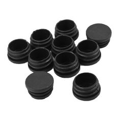 Vogholic Tubing Edges Cover Cap Blanking End Cover Round Tube Insert 10 pcs -- You can find out more details at the link of the image.