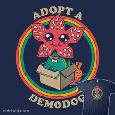 Adopt a Demodog | Shirtoid #demodog #demogorgon #graja #scifi #strangerthings #tvshow