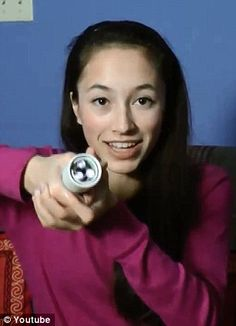 Wow! A 15-year-old Canadian girl has invented a flashlight powered only by body heat. It turns on using the energy created by the heat of her palm, and nothing more. She's earned a spot in the Google Science Fair finals.