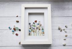 Far Far Away Art by Rebecca Kate, Etsy.  A beautiful field of Rainbow Flowers.
