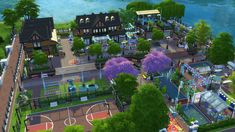 Welcome in San Myshuno Central Park. [#ts4_lot]