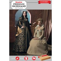 Simplicity Pattern EA450801 Premium Print on Demand Costume Pattern