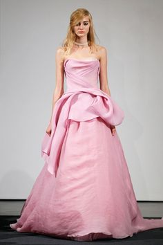 pink wedding dress vera wang - dresses for guest at wedding Check more at http://svesty.com/pink-wedding-dress-vera-wang-dresses-for-guest-at-wedding/