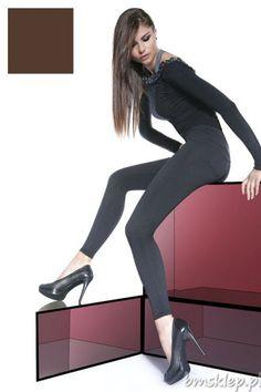 Klasyczne zawsze modne legginsy - mocno kryjące. Góra z kieszonkami oraz imitacją rozporka. Idealne w zestawieniu z tunikami, wysokimi obcasami oraz trampkami – pasują praktycznie do każdego stroju. Po wewnętrznej stronie delikatny micro-plush, który zapewni miękkość, komfort oraz ciepło. Grubość 200 Den, model jest na wygodnej gumie. Legginsy - wyrób o dokładnej nazwie - Tregginsy – imitacja spod... #Legginsy - http://bmsklep.pl/bas-bleu-marika