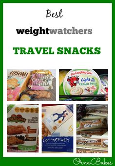 Best Weight Watchers Travel Snacks - OrnaBakes. Lots of yum snacks and treats that will keep you away from the bad stuff! www.ornabakes.com