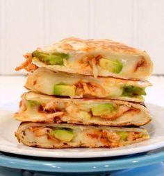 BBQ Chicken Avocado Quesadillas #Chicken_Recipes#Ultimate_Barbecue_Stuffed_Chicken_Ideas #Barbecue_Stuffed_Chicken #Stuffed_Chicken