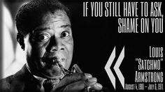 #LouisArmstrong #Jazz