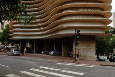 Detalle planta baja Edificio Niemeyer. Oscar Niemeyer1 | Flickr: Intercambio de fotos