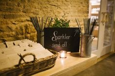 Sparkler Send Off: Photography by Debs Ivelja, Wedding Planning by Jessie Thomson Weddings and Events