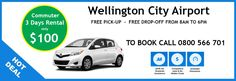 Special deal for the Commuter category - Available in Auckland, Wellington & Christchurch Car Rental Deals, Car Deals, Wellington City, Cheap Cars, Auckland, Books Online, Day