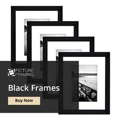 Best Way to Give a New Look for Your Room. Black Photo Frames, Picture Frames Online, Things To Come, Modern, Room, Stuff To Buy, Bedroom, Trendy Tree, Rooms