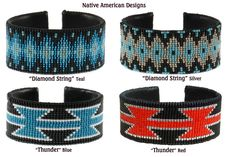 iroquois+beading+designs | Native American Crafts and Supplies: Moccasins & Moccasin Patterns