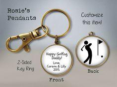Items similar to Fishing Dad Father's Day Gift 2017 - Custom Two Sided custom text and fish bone key ring - fishing keychain - fisherman - sports fishing on Etsy