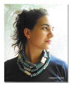 #paper_jewel #necklace #gioielli_di_carta #paper #collana_di_carta