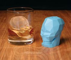 Skull Ice Cube Mold   Cool Material