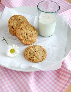 TLCs (oatmeal pecan cookies) / TLCs (cookies de aveia e pecãs) by Patricia Scarpin, via Flickr