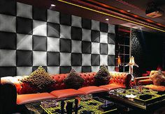 Luxury Non-woven Fabric Wall Wallpaper Home Decor 10M  US-7009
