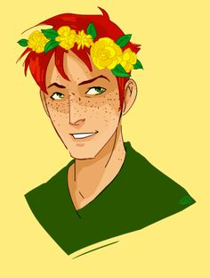 wally in a flower crown...ok *pins*