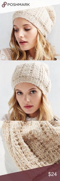 Urban Outfitters slouch boucle knit beanie-NWT! Urban Outfitters slouch boucle knit beanie-NWT!🎉🎉🎉HP 10/23/16🎉🎉🎉 Urban Outfitters Accessories Hats