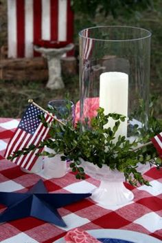 Liberty Tablescape