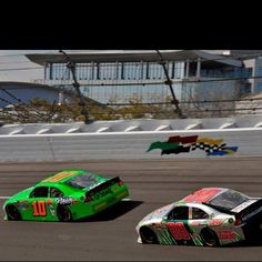 Jr. & Danica-Boogity boogity boogity let's go racing!