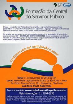 Entidades discutirão Central de Servidores Públicos na próxima semana